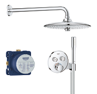 Grohtherm SmartControl Perfect shower set 34744000