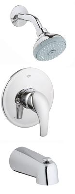 Eurosmart Pressure balance valve shower / bath combination 35012001