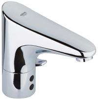 "Europlus E Infrared electronic basin mixer 1/2"" with mixing device 36015000"