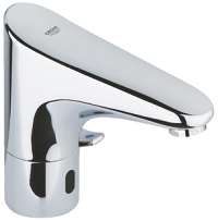 "Europlus E Infra-red electronic basin mixer 1/2"" with mixing  device and adjustable temperature limiter 36015001"