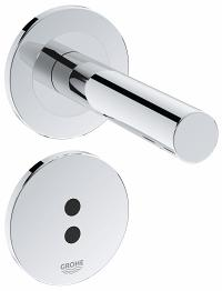 "Essence E Infra-red electronic basin tap 1/2"" wall mounted 36252000"