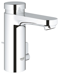 Eurosmart Cosmopolitan T Self-closing basin mixer with mixing device  and adjustable temperature limiter 36318000