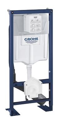 Rapid SL Element for GROHE Sensia shower WCs, 1.13 m installation height 39128001
