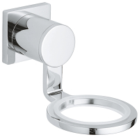 Allure Glass/soap dish holder 40278000