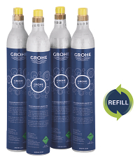 GROHE Blue Refill 425 g CO2 bottles (4 pieces) 40687000