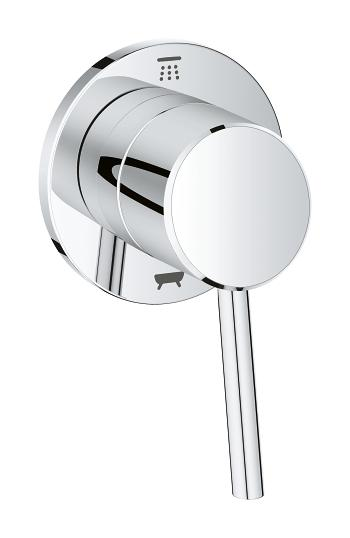 Grohe concetto 2 way diverter trim shower head tub - Grohe concetto shower ...