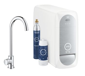 grohe grohe blue home mono starter kit 31498 000. Black Bedroom Furniture Sets. Home Design Ideas