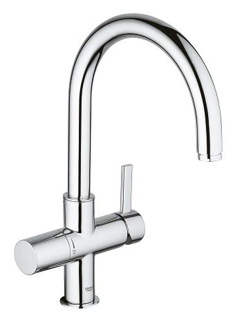 grohe grohe blue single lever sink mixer 1 2 33251 000 grohe blue ultrasafe pure water. Black Bedroom Furniture Sets. Home Design Ideas