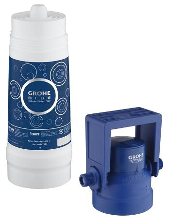 grohe grohe blue filter refitting set activated carbon filter 40547 00x grohe blue pure. Black Bedroom Furniture Sets. Home Design Ideas